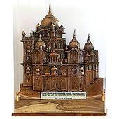 Harminder Sahib Gurudwara (Encased in Acrylic)