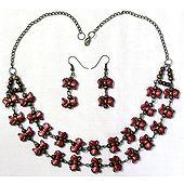 Acrylic Necklace Set