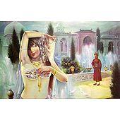 Courtesan Entertains The Maharaja - Poster