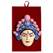 Poly Resin Opera Mask for Wall Decoration