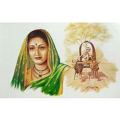 Maharashtrian Lady - Poster
