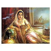 Rajput Beauty - Poster