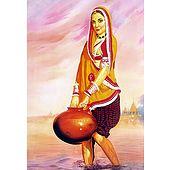 Village Woman - Poster