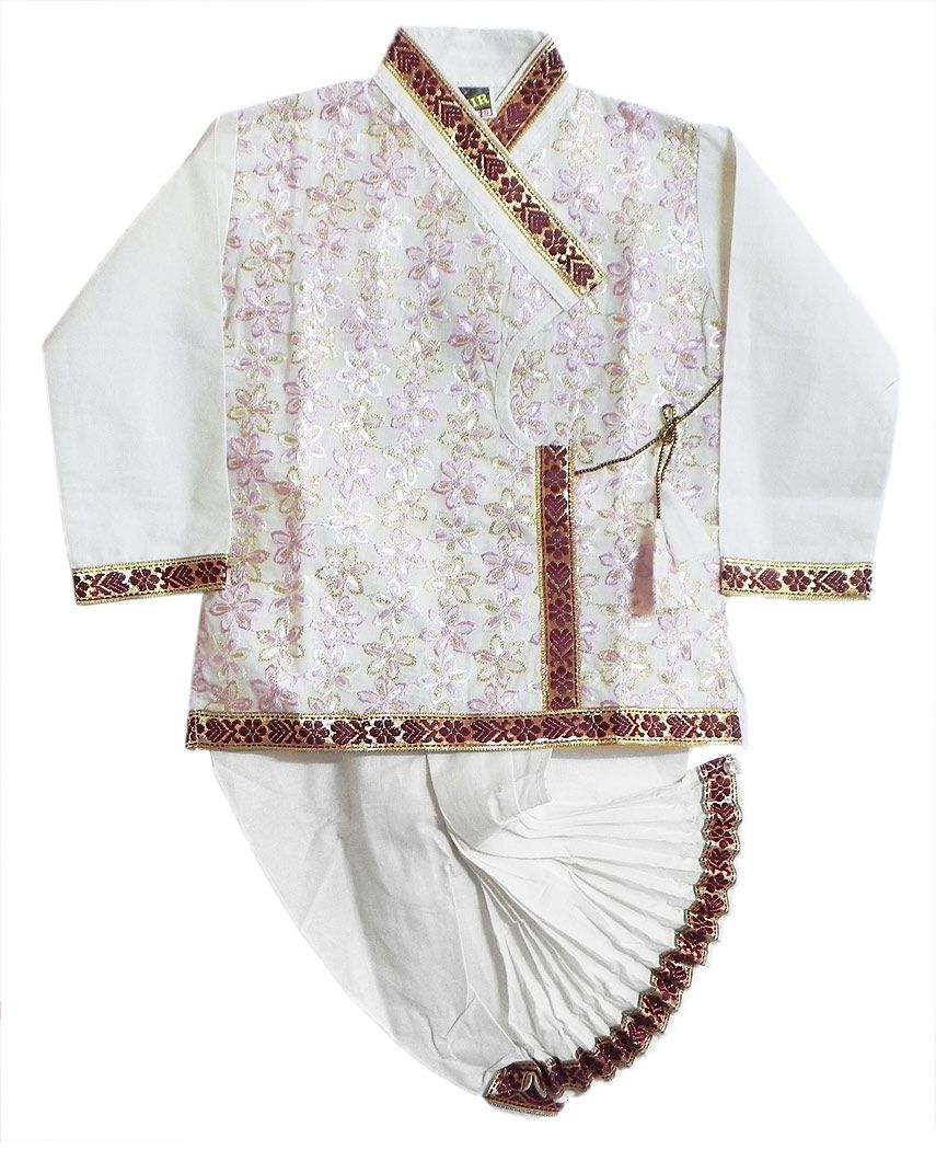 how to make ready to wear dhoti