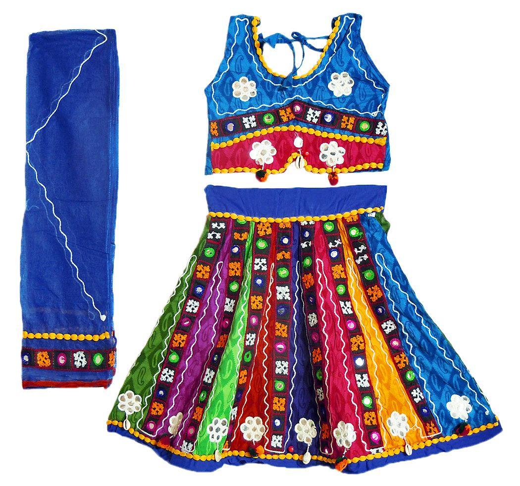 Kids ghagra choli online shopping