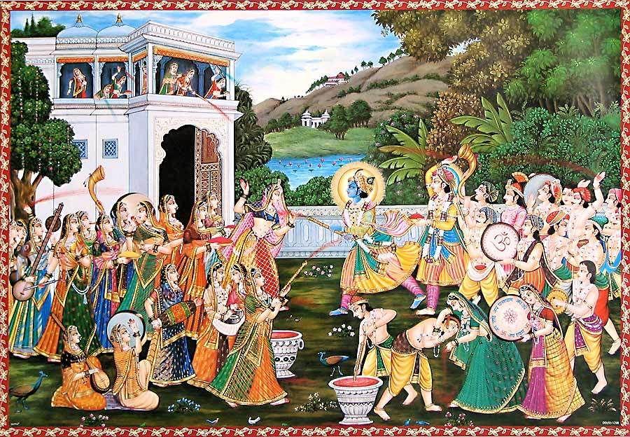 Kare krishna raas radha ke sang song download