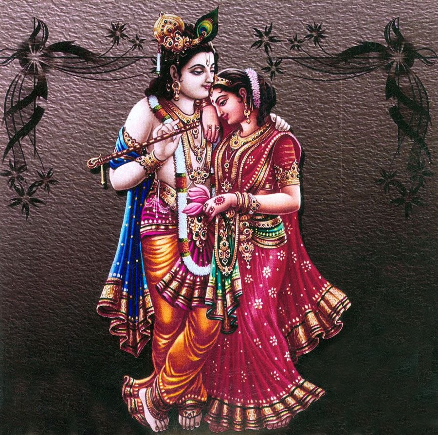 wallpaper of krishna radha