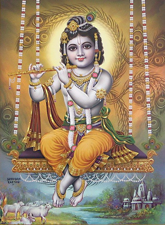 Image result for young krishna