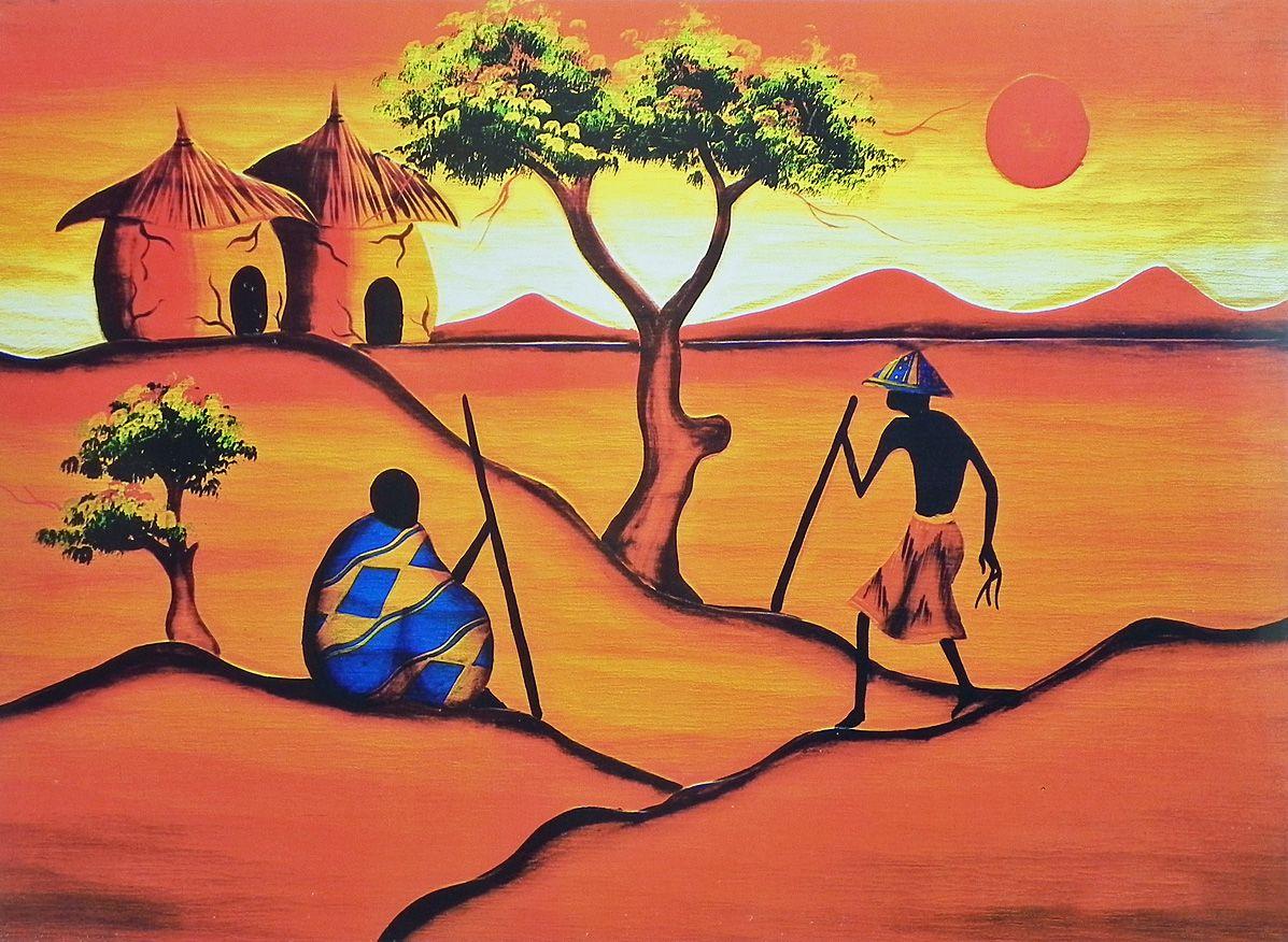 Картинки африка мотивы
