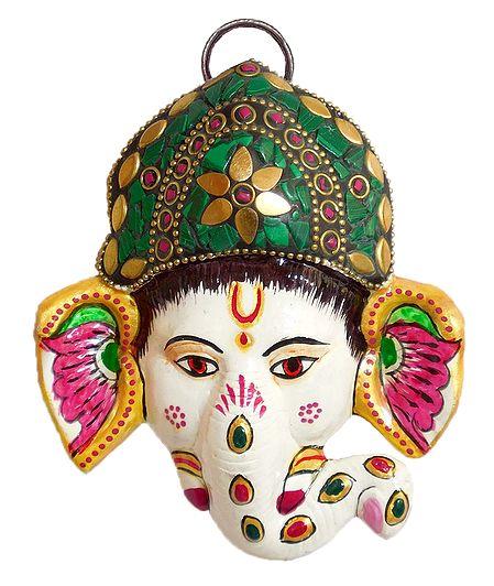 Ganesha Face - Wall Hanging
