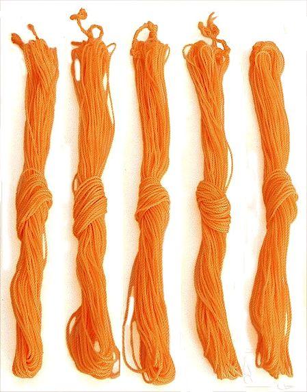 Set of 5 Yajnapaveet - Hindu Sacred Thread or Brahmin Thread
