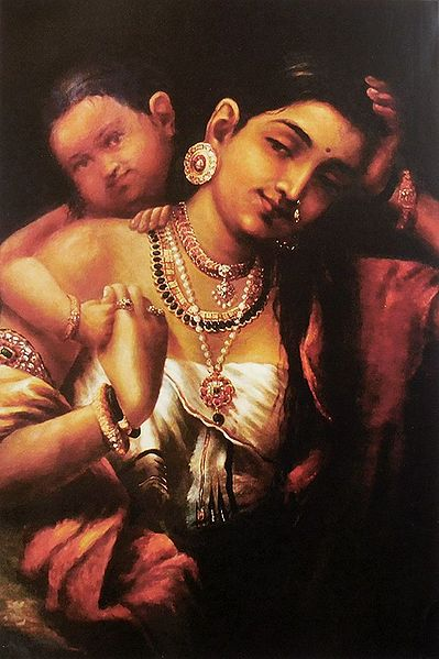Yasohda and Krishna