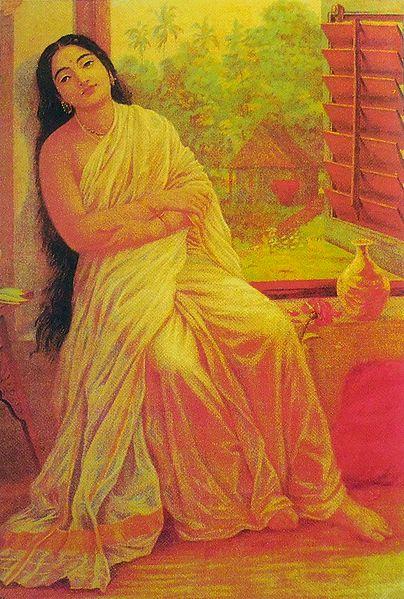 Lady Near Window