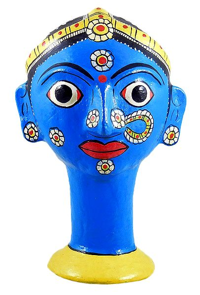 Cheriyal Mask Pen Holder