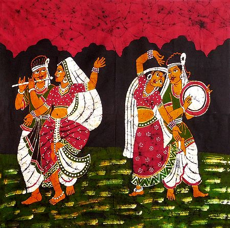 Indian Folk Dancers