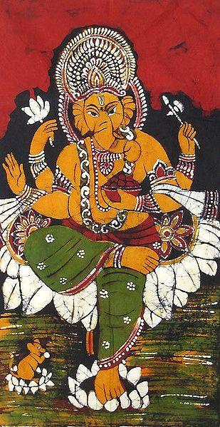 Ganesha - Son of Lord Shiva and Goddess Parvati