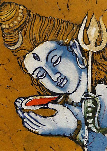 Neelkantha - Lord Shiva Drinking Poison