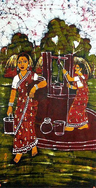 Village Women Near the Well