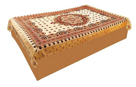 Printed Cotton Single Bedspread