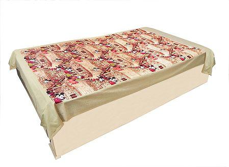 Micky Mouse Print on Cotton Single Bedspread
