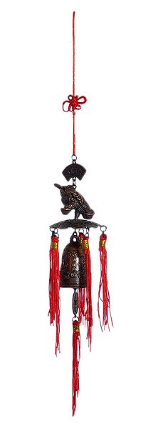Feng Sui Hanging Bell with Frog