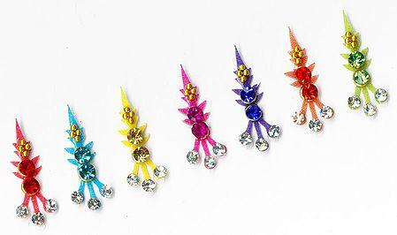 Multicolor Stone Studded Bindis