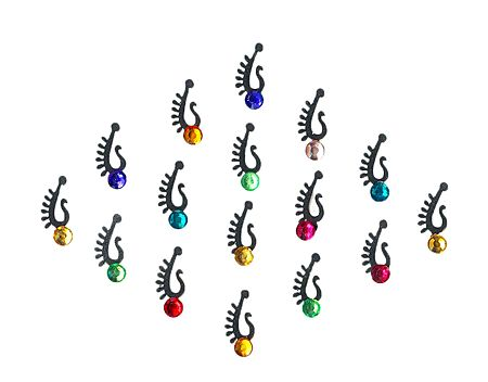 Multicolor Small Designer Bindis