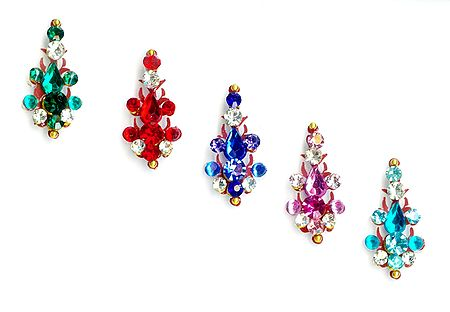Multicolor Stone Studded Bindis