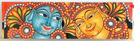 Deco Painting Murals - Bookmark