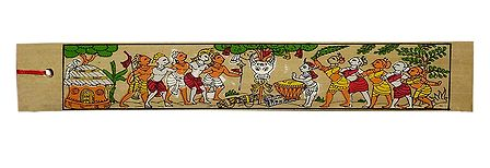 Tribal Dancers - Tribal Painting Bookmark