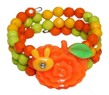Multicolor Beaded Adjustable Bracelet
