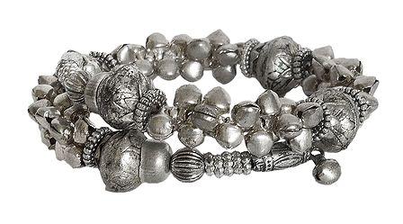 Metal Bead Spring Bracelet