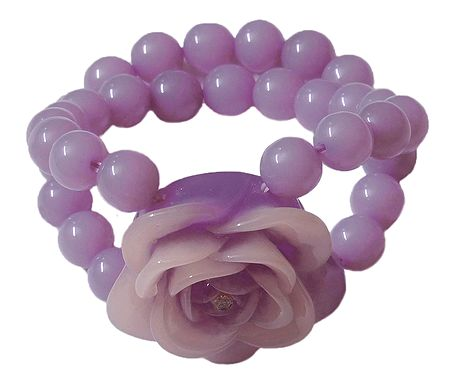 Light Mauve Stretch Bracelet