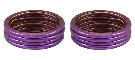 Set of 2 Dark Mauve Lac Churis