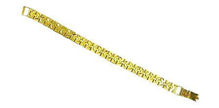 Gold Plated Metal Link Bracelet