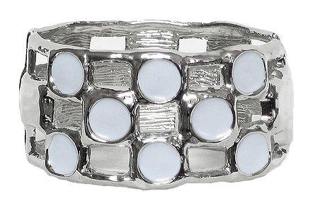 Metal Hinged Bracelet