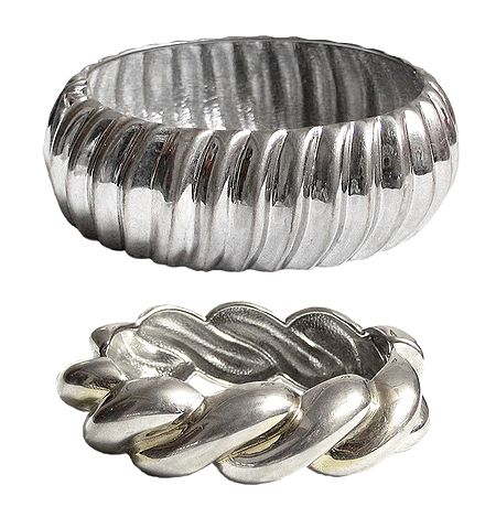 Metal Hinged Bracelet
