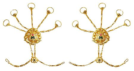 Pair of Panja Ring Bracelet
