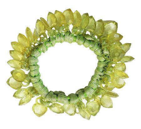 Light Green Stretch Bracelet