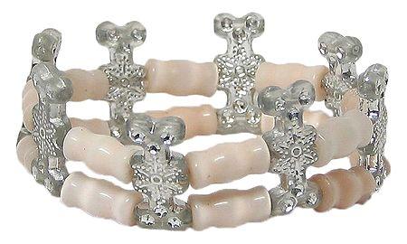 Acrylic Bead Stretch Bracelet