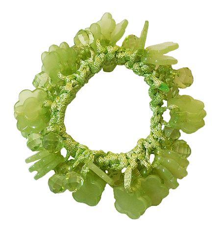 Green Stretch Bracelet
