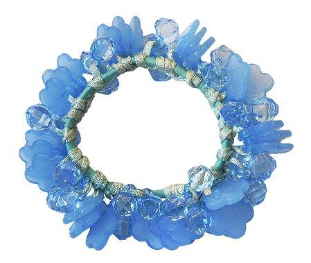 Light Blue Stretch Bracelet