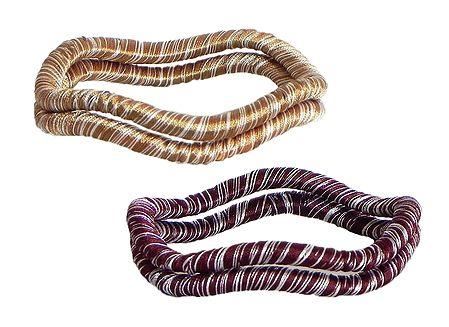 Set of 2 Thread Bangles