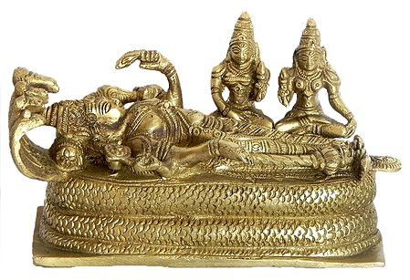Lord Vishnu in Anantashayan