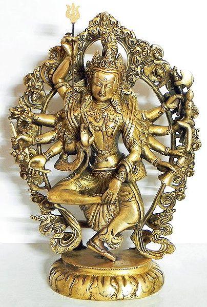 Ardhanarishwara Shiva And Shakti