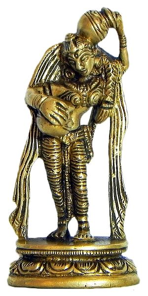 Sri Radha with Kalash