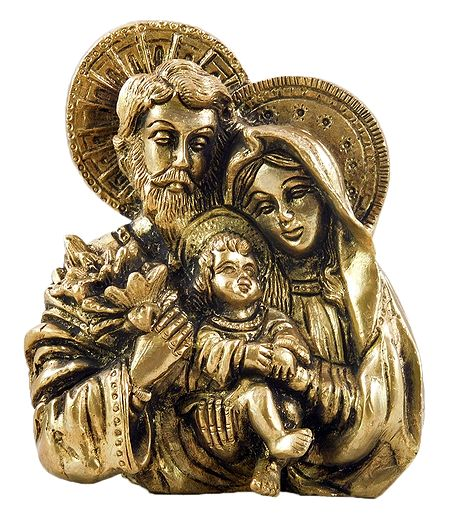 Joseph, Mary with Jesus