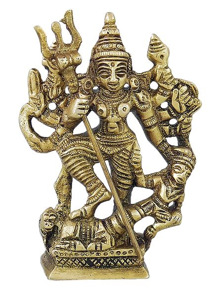 Goddess Durga Slaying Mahishasura