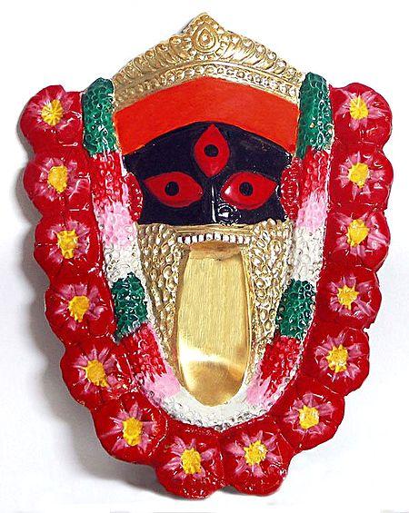 Face of Kalighat Kali