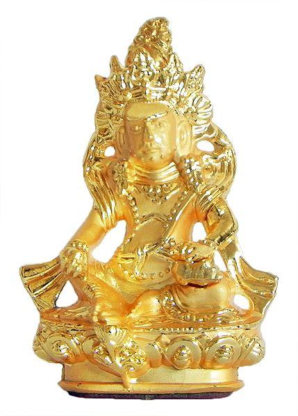 Gold Plated Jambhala